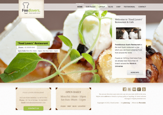 Foodlovers-ThemeForest