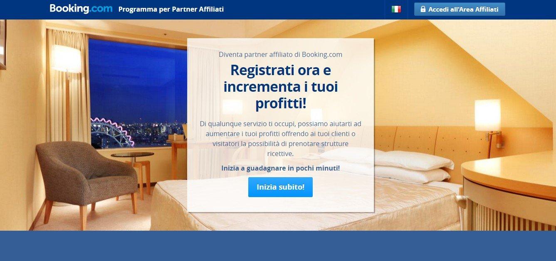 Guadagnare con l'affiliazione booking.com