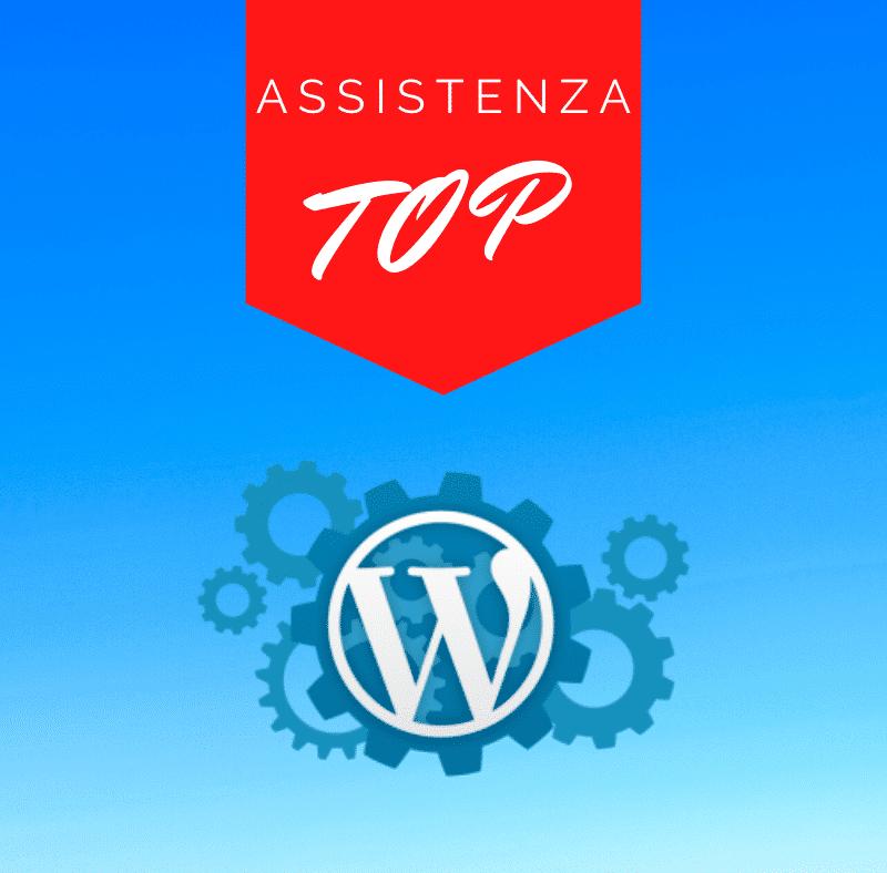 Assistenza Wordpress Mensile TOP