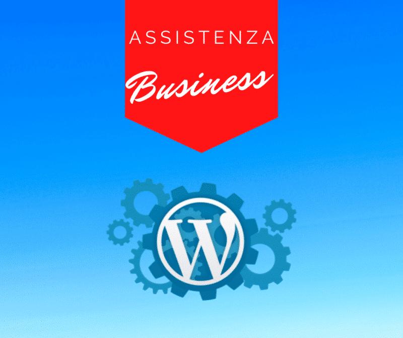 Assistenza Wordpress Mensile business