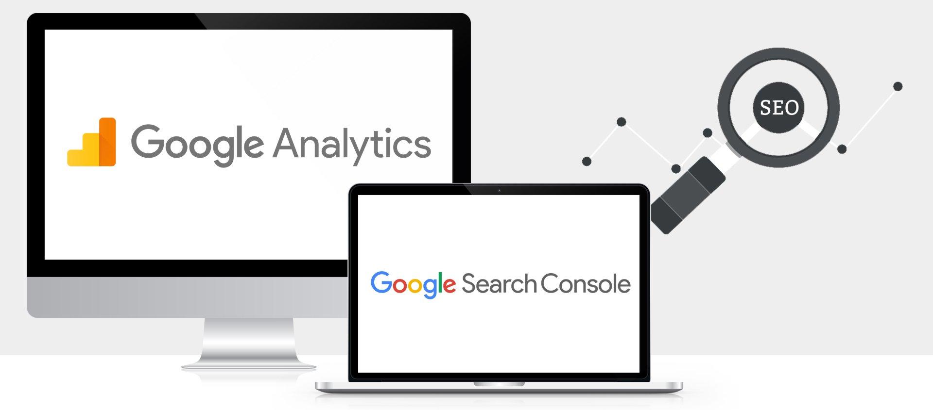 Utilizza Google Analytics e la Search Console per valutare l'attuale presenza del tuo sito su Google