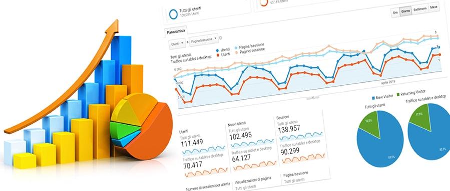 Come monitorare le statistiche del tuo sito web per conoscere i suoi punti vincenti e quelli che invece andrebbero migliorati